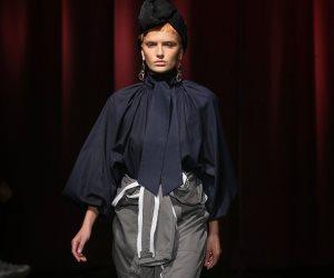 تصميمات مثيرة و أزياء غريبة في مجموعة bessarion في ختام أسبوع الموضة في تبليسي