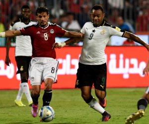 إحصائيات مباراة مصر وغانا بتصفيات المونديال (تحليل)