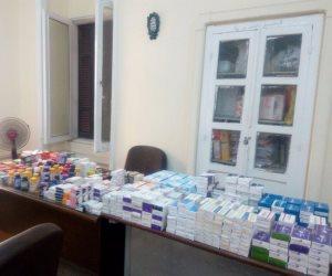 حملات مكثفة في الفيوم.. غلق مصنعين و5 صيدليات ومخزن أدوية