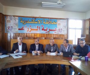 مجالس الإدارات الزراعية في الإسكندرية تناقش مشكلات المياه (صور)