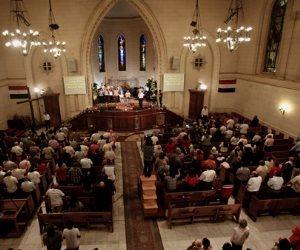 الكنيسة الانجيلية تطلق احتفالها بقداس عيد القيامة المجيد