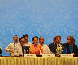 """بسبب مجازر الروهينجا.. تفاصيل سحب العفو الدولية لجائزة """"سفيرة الضمير"""" من زعيمة بورما"""