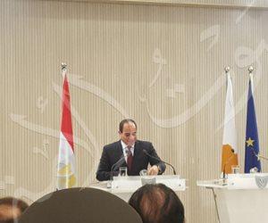 رئيس قبرص: نثمن الجهود المصرية لحل الأزمة اللبنانية