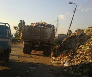 رفع 25 طن قمامة في حملة مكبرة للوحدة المحلية بقرية دروة بالمنوفية