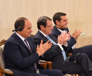 افتتاح مركز الإبداع التكنولوجي في برج العرب باسم مصر واليونان وقبرص (بث مباشر) (صور)