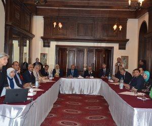 """رئيس جامعة الفيوم يشهد الجلسة الختامية لبرنامج """"Tempus"""" (صور)"""
