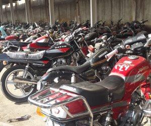حجز 589 دراجة بخارية خلال حملات مرورية