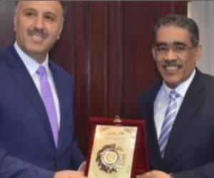 وزير الإعلام الفلسطيني في ضيافة رئيس الهيئة العامة للإستعلامات