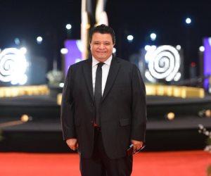 خالد جلال ينشر صور تجهيزات حفل افتتاح مهرجان القاهرة السينمائى الدولي (صور)