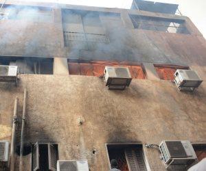 السيطرة على حريق بدار الكتب دون خسائر