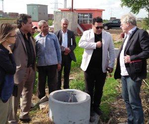 """""""زراعة البحيرة"""" تستقبل وفد التعاون الدولي الألماني لتفقد مشروع الري الحقلي"""