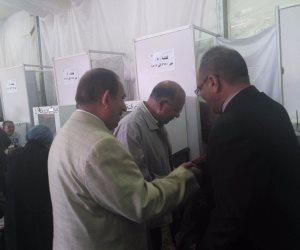 انتخابات الزمالك .. وزير الانتاج الحربى الأسبق يدلى بصوته