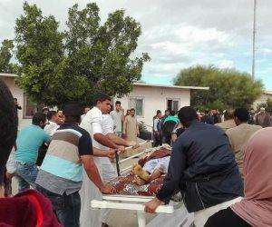 القوات المسلحة الليبيه تنعي شهداء مسجد العريش