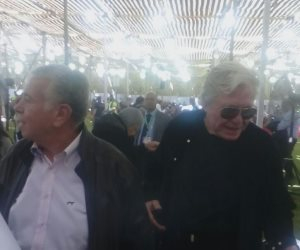 انتخابات الجزيرة.. حسن حمدي وحسين فهمي يشاركان فى التصويت (صور)