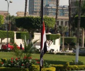 تنكيس أعلام جامعة القاهرة حدادًا على أرواح ضحايا مسجد الروضة