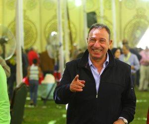 انتخابات الجزيرة.. سمير صبرى وبسام رجب يشاركان فى التصويت (صور)