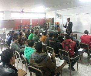 بدء تدريب دفعة جديدة على قراءة العداد في الإسكندرية لتوزيع الكهرباء (صور)