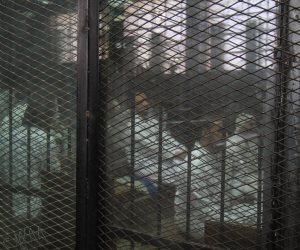 لحظة النطق بالحكم على 7 متهمين بالإعدام والمؤبد لـ10 والسجن 15 عاماَ لـ3 أخرين فى قضية داعش ليبيا (صور وفيديو)