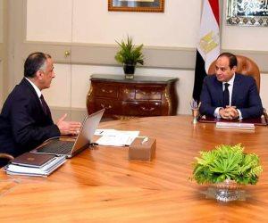 السيسي يطالب عامر بمواصلة خفض الدين العام وزيادة الاحتياطي النقدي