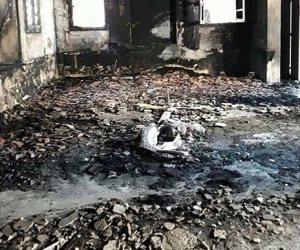 سائق يحرق منزل خطيبته في أكتوبر