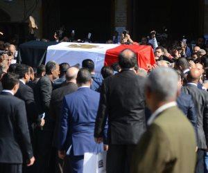 وداعا دلوعة السينما.. 20 صورة من جنازة الفنانة شادية (صور)