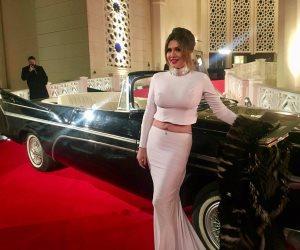 حسناء سيف الدين تلفت الأنظار في ختام مهرجان القاهرة السينمائي بإطلالة مثيرة (صور)
