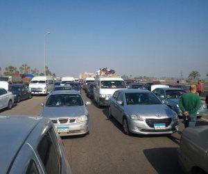 الداخلية: غلق طريق الإسكندرية الصحراوي لانعدام الرؤية في الاتجاهين