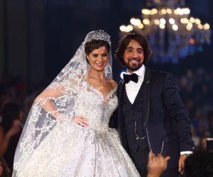 قبل يسرا اللوزي .. هؤلاء النجمات بفساتين زفاف هاني البحيري