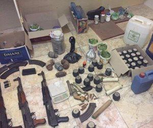 ضربة قوية لسوق السلاح.. ضبط 4 آلاف قطعة بينها «جرينوف ورشاشات وبنادق آلية»