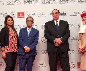 باسل خياط ومجدى أحمد علي وصفية العمرى على السجادة الحمراء لمهرجان دبي