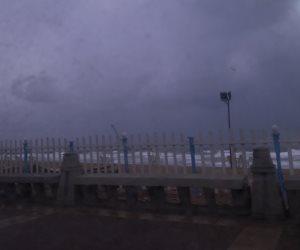 """""""نوة الكرم"""".. أمطار غزيرة ورياح تضرب مدن وقرى كفر الشيخ"""