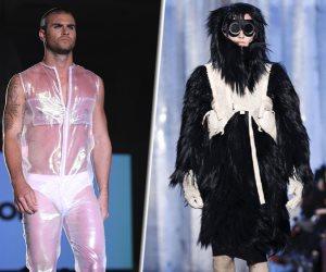 البوكسر واللحاف السيار.. مين اللي عمل كده في تصميمات أزياء الرجال 2017؟
