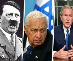 بوش وهتلر والبشير وشارون وترامب.. رؤساء لكن مجانين