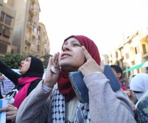انطلاق مظاهرات من مسجد الأزهر والحسين احتجاجا على قرار ترامب (صور)