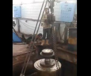 انتهاء أعمال الصيانة والعمرة بمحطة رفع قلابشو بالدقهلية (فيديو)
