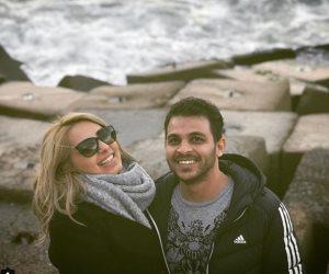 """محمد رشاد ومي حلمي.. تصريحات مثيرة للجدل وتبادل للاتهامات رغم الطلاق """"صور"""""""