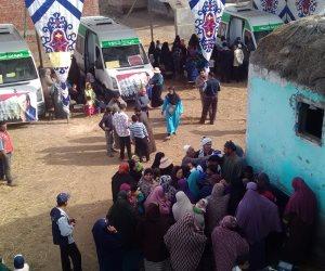 حملة علشان تبنيها تنظم قافلة طبية في كفر الشيخ (صور)