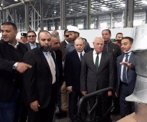 باستثمارات 150 مليون جنيه.. افتتاح مصنع أواني الطهي ببورسعيد (صور)