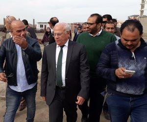 محافظ بورسعيد يتفقد أعمال إنشاء مصنع لإنتاج إطارات السيارات (فيديو وصور)
