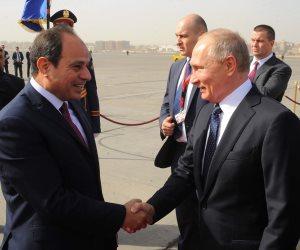 """بوتين: مصر ستحصل على أحدث التكنولوجيات بعد إنشاء """"الضبعة النووية"""""""