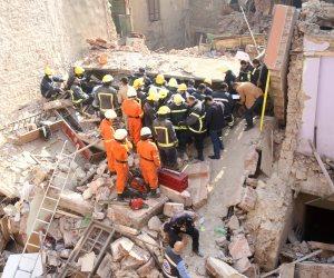 ارتفاع عدد ضحايا المنزل المنهار بالمحلة لـ6 جثث ومصابين اثنين