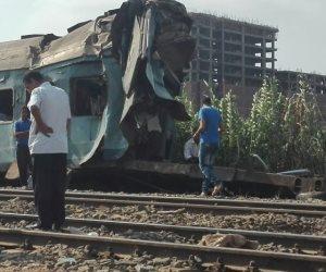 """دفاع ملاحظ """"بلوك أبيس"""" بالإسكندرية: قطار بورسعيد كان يسير بدون سائق وبه أخطاء فنية"""