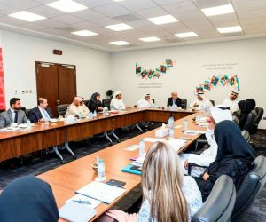 اللجنه العليا لألعاب الأولمبياد الخاص تبحث ترتيبات بطولة أبوظبي 2018 (صور)