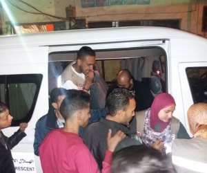 الهلال الأحمر  المصري: توزيع مهمات إغاثة لأسر ضحايا حريق باب الشعرية