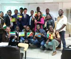محاضرة عملية للإذاعيين الأفارقة عن أنظمة الفيديو الرقمي وتطوراته