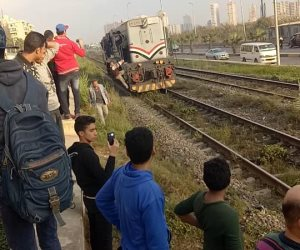 مصرع شاب أسفل عجلات قطار بالعياط