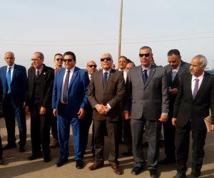توزيع 623 حقيبة مدرسية على طلاب الوديان البدوية بمدارس أبورديس بجنوب سيناء