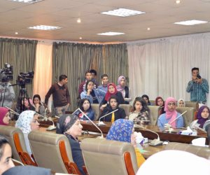 الملتقى العربى للتدريب الإعلامي يستكمل ورش التدريب لطلاب إعلام النهضة