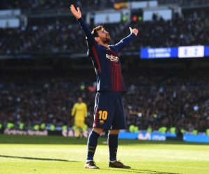 ميسي يسجل الثاني لبرشلونة أمام إشبيلية في نهائي كأس إسبانيا