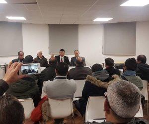 """""""التضامن المصري الفرنسي"""" و""""المتحدة لحقوق الانسان """"يختتمان مؤتمر """" انجازات الدولة """" بباريس ( صور)"""